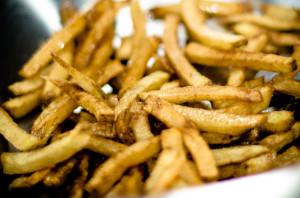 Des frites maison